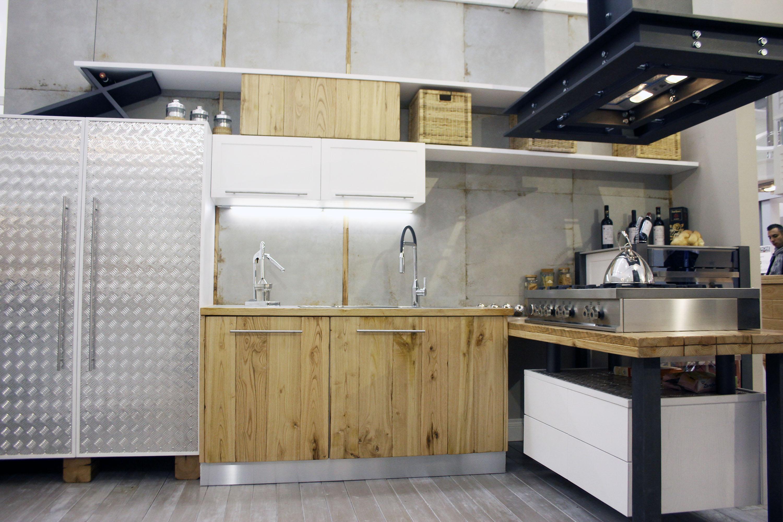 cucina industrial roma falegnameria su misura
