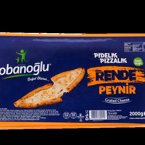 Çobanoğlu Rende Mozzarella Peyniri 2kg