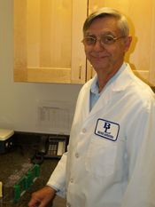 A photo of Beutner Labs employee, Bob.