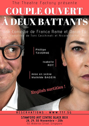 The Theatre Factory-Couple ouvert a deux battants