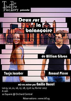 The Theatre Factory-Deux sur la balancoire