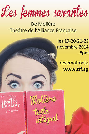 The Theatre Factory-Les femmes savantes