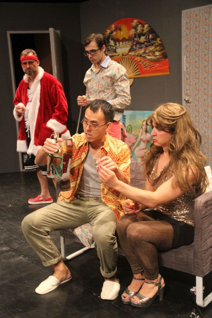 The Theatre Factory-Production-Le pere noel est une ordure