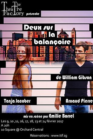 The Theatre Factory-Production-Deux sur la balancoire