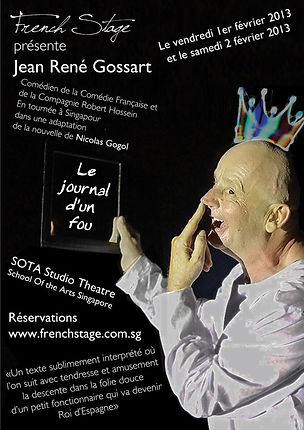 The Theatre Factory-Le journal d'un fou