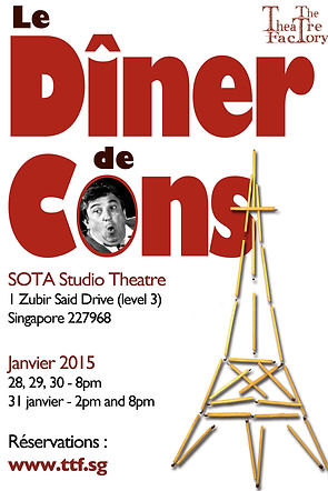 The Theatre Factory-Production-Le diner