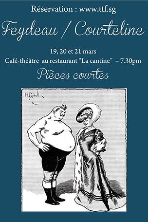 The Theatre Factory-Feydeau Courteline
