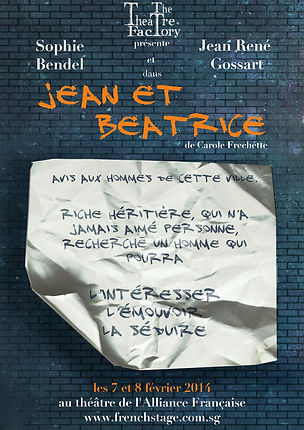 The Theatre Factory-Jean et Beatrice