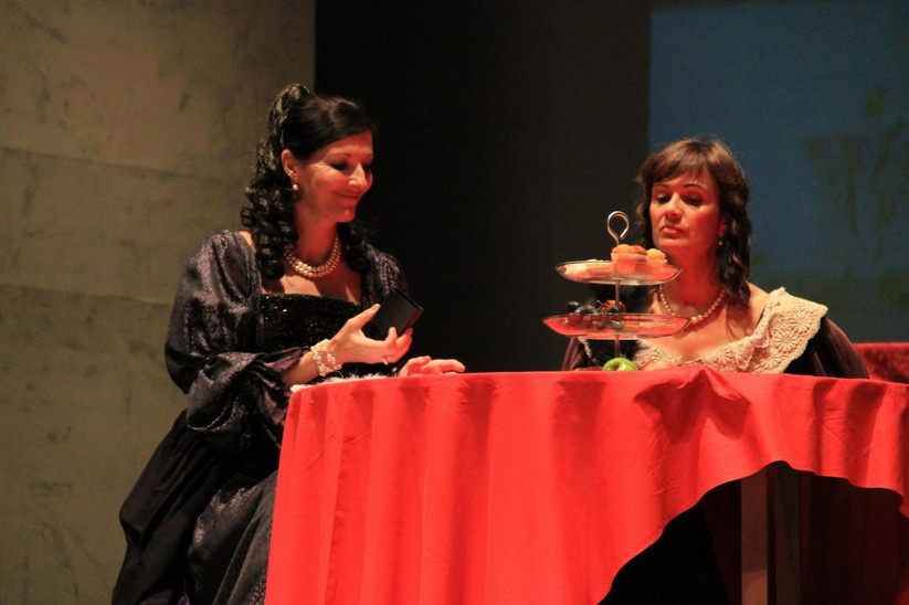 French Stage-Production-Cyrano de Bergerac