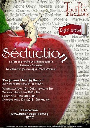 The Theatre Factory-Seduction