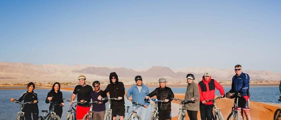 טיולי אופניים באילת