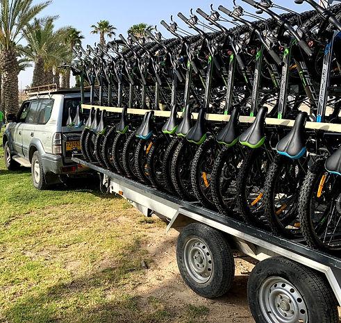 טיול אופניים מאורגן צל הדרך