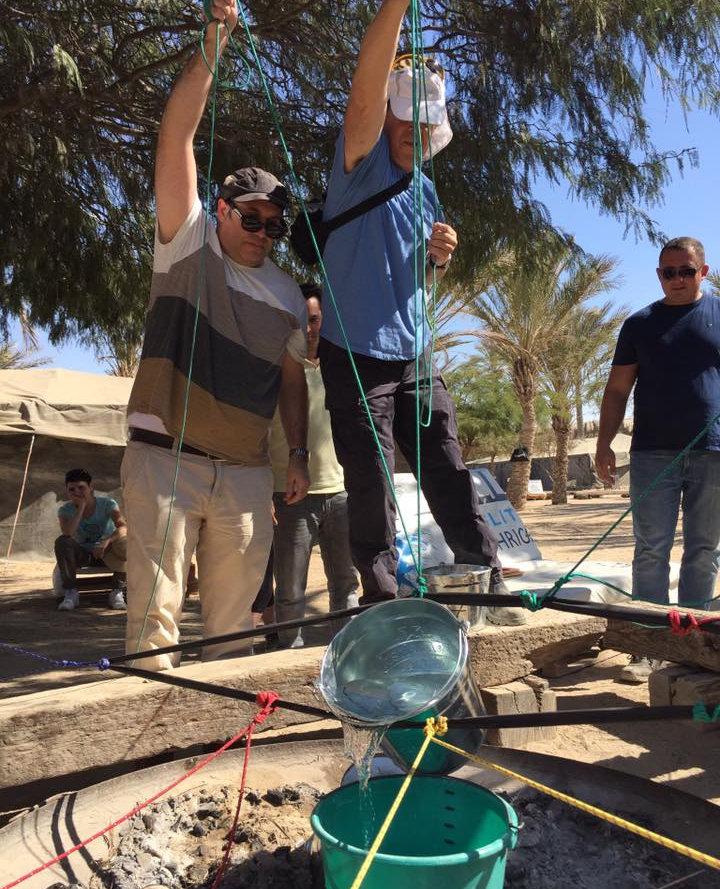 פעילות ODT בסדנאות שטח