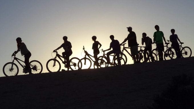 טיול אופניים כפעילות גיבוש וחופש