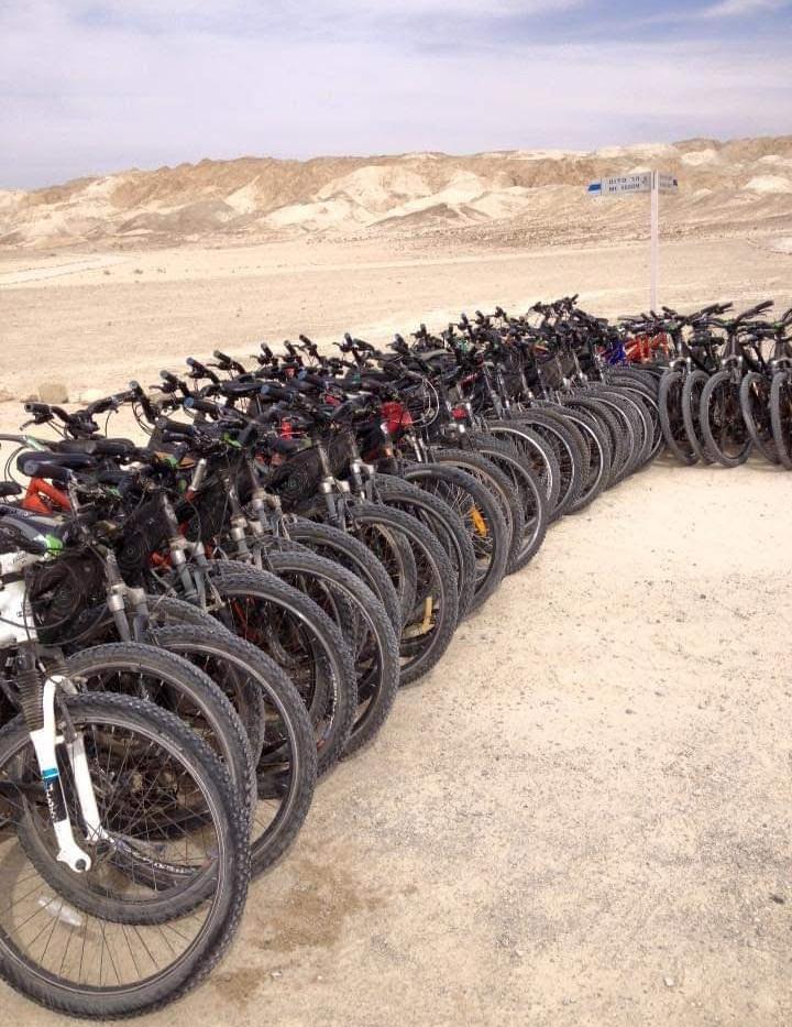 טיולי אופניים בסדום