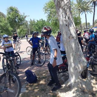 טיול אופניים מאורן בפארק הירקון