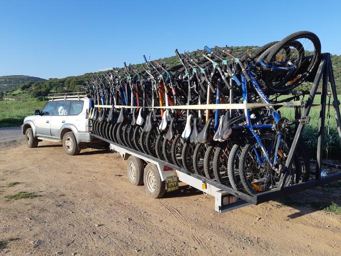 ישראל - גן עדן לטיולי אופני הרים