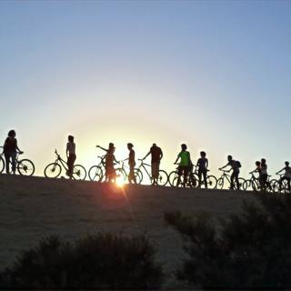 טיול אופניים מאורגן בבשור