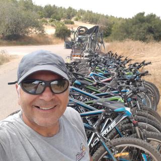 טיול אופניים מאורגן בשפלת יהודה