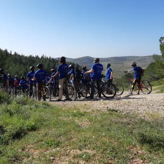 טיול אופניים מאורגן בצפון