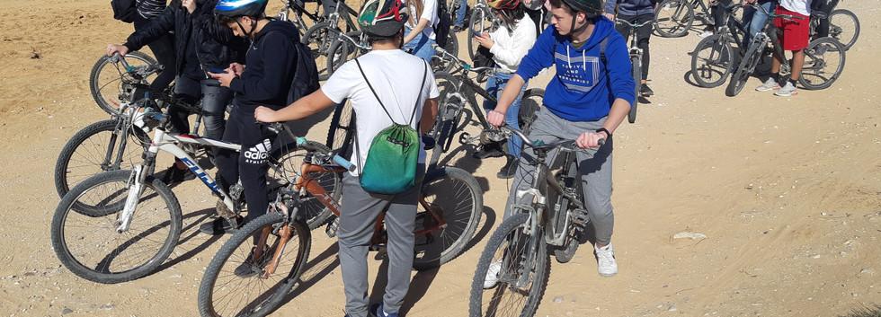 טיולי אופניים לבתי ספר
