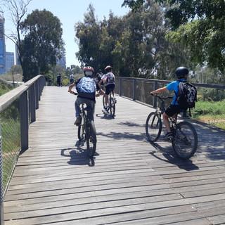 טיול אופניים מאורגן במרכז תל אביב
