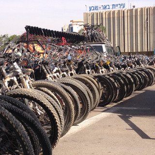 טיולי אופניים מאורגן לקבוצות בבאר שבע