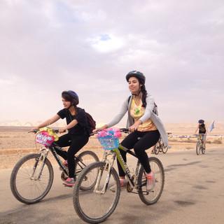 טיול אופניים מאורגן בנגב