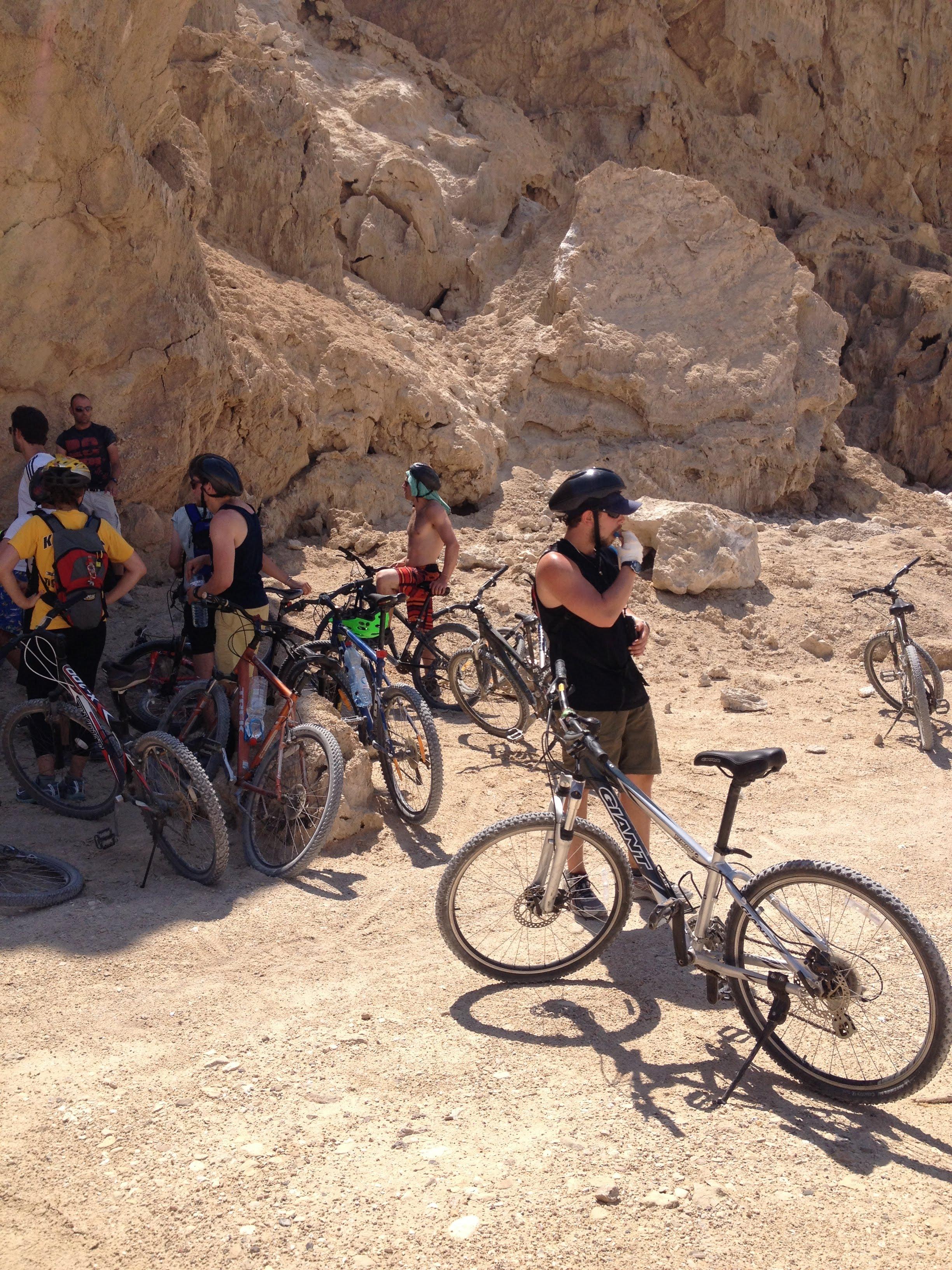 טיול אופניים מאורגן בסדום