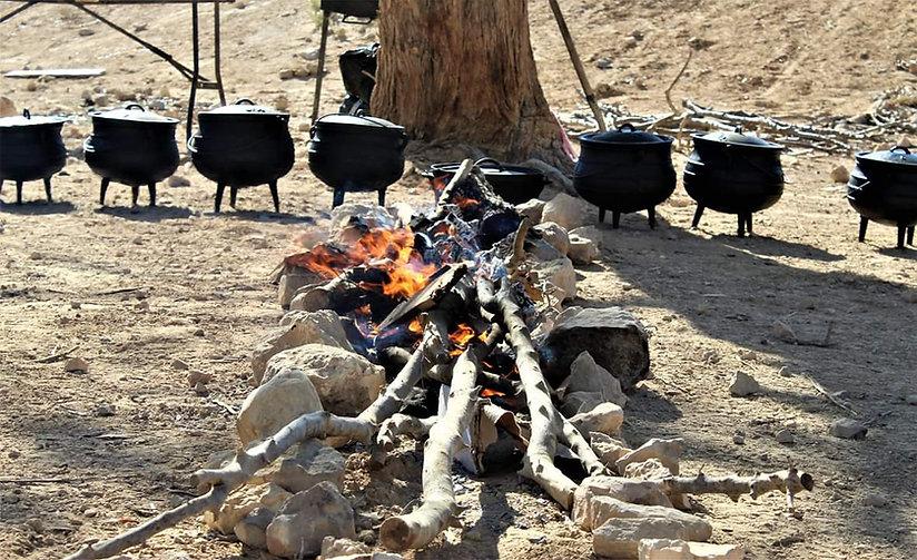 סדנת בישול בטבע צל הדרך
