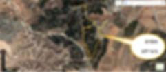 מפת טיול אופניים ביער להב