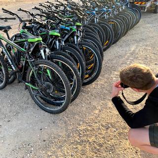 טיולי אופניים מאורגנים לקבוצות בעיר באר שבע