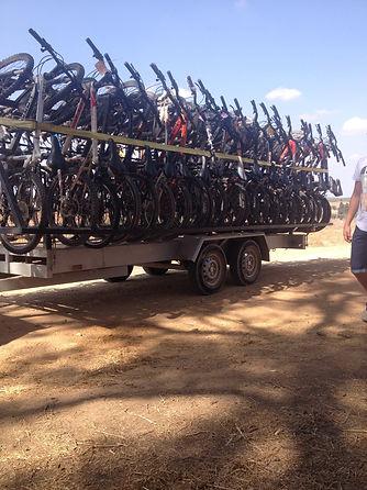 טיולי אופניים צל הדרך