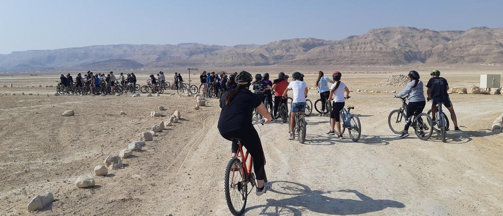 טיולי אופניים בערבה