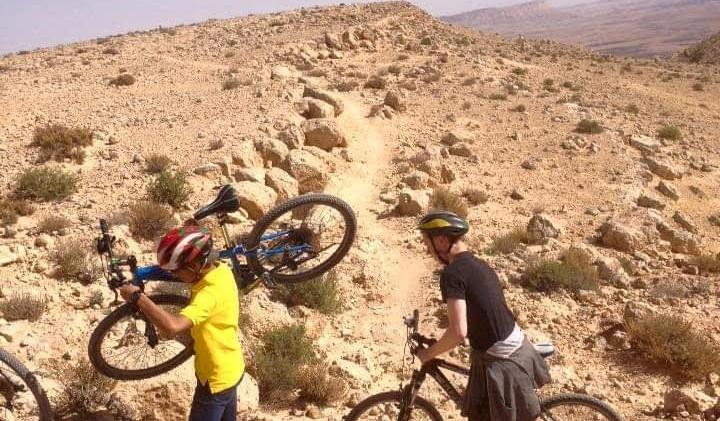 טיולי אופניים במצפה רמון