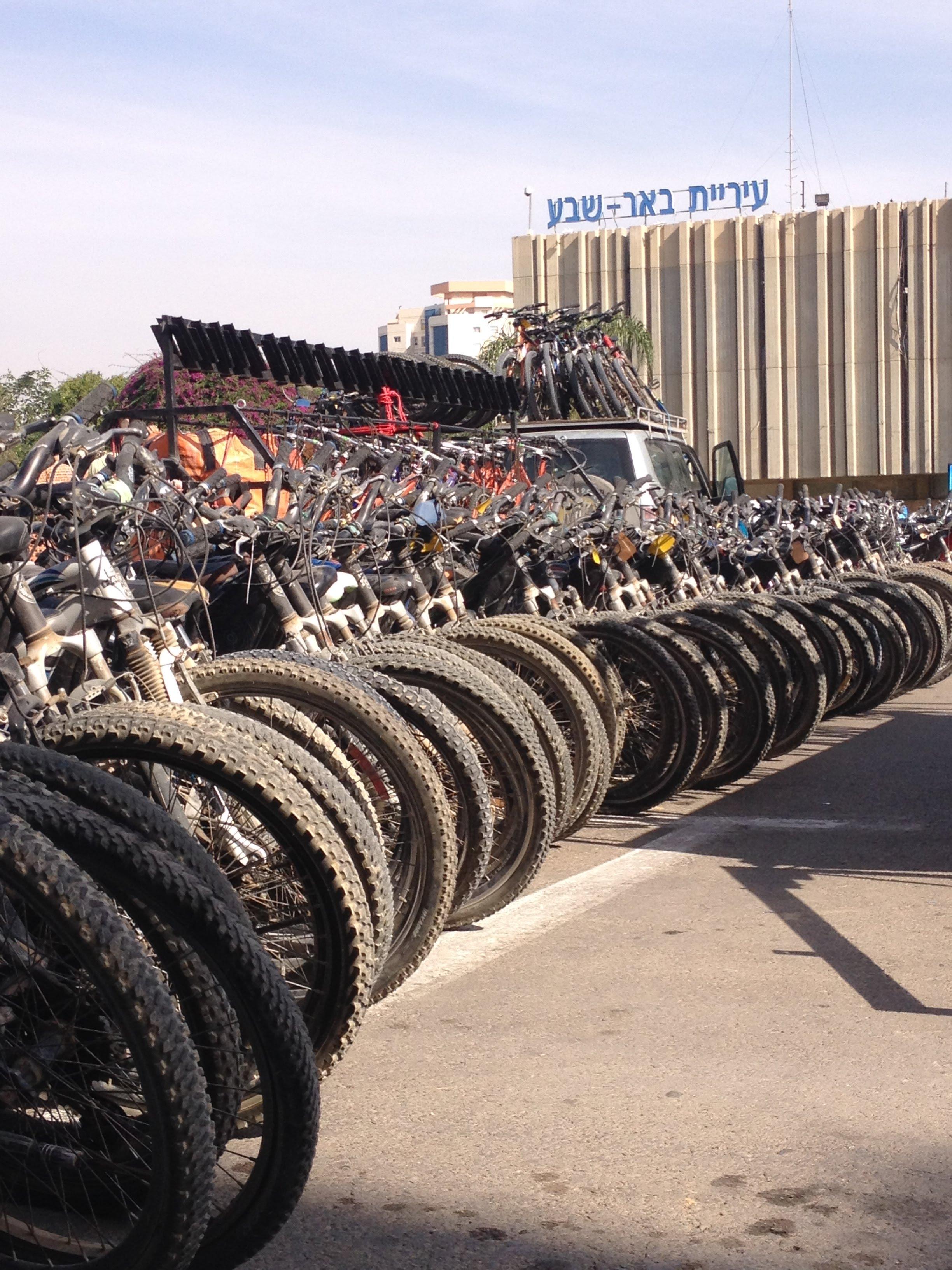 טיולי אופניים בפארק באר שבע