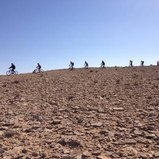 טיול אופניים מאורן לקבוצות במצפה רמון