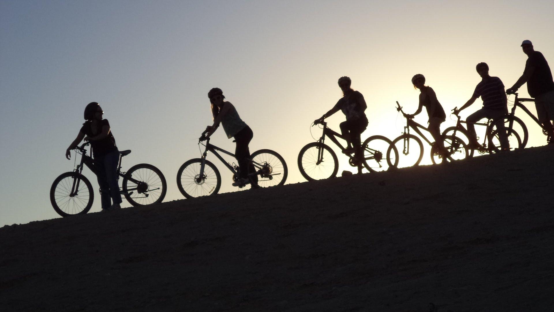 טיול אופניים מאורגן בירקון