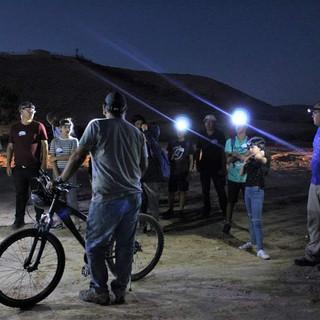 טיול אופניים לאור ירח