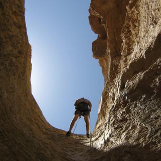 גלישה מצוקים במדבר