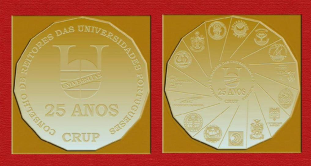 Medalha 25º Aniversário CRUP