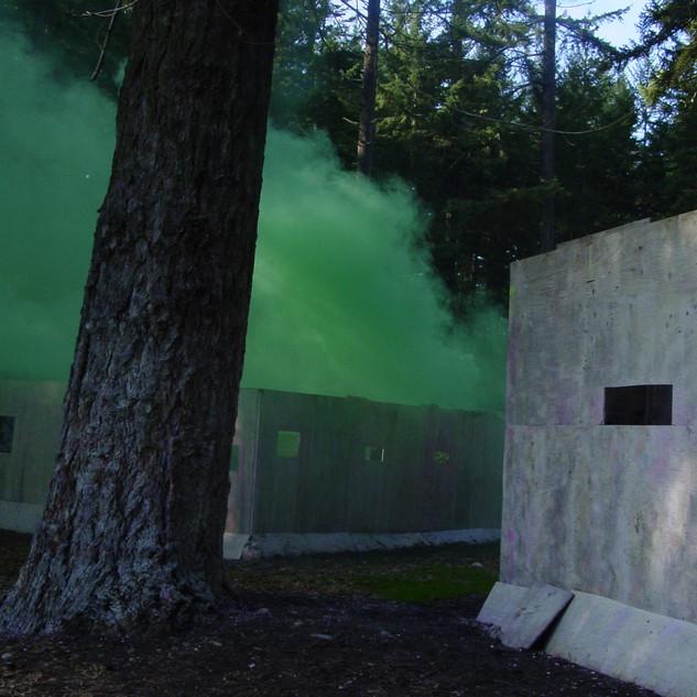 Green smoke down