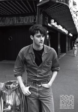 César Domboy for L'Uomo Vogue