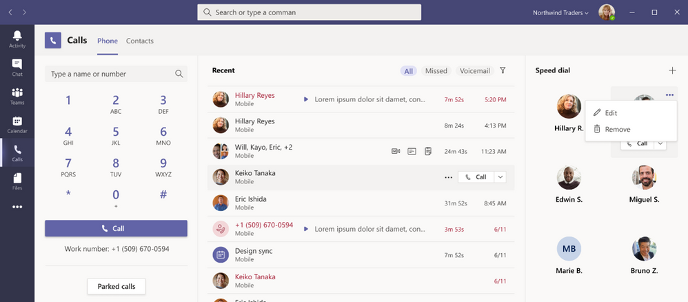 Microsoft Teams New Calling Experience