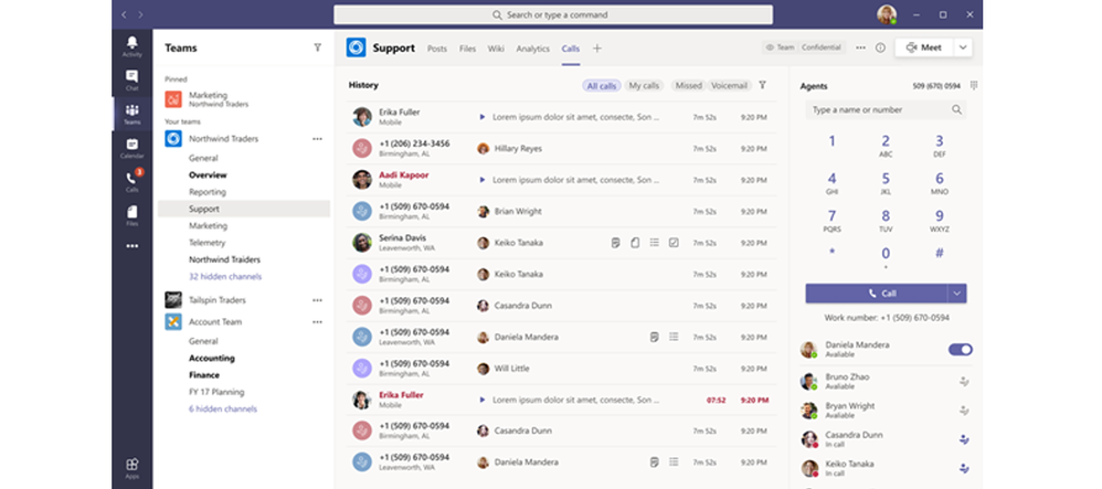 Microsoft Teams Voice Enabled Channels