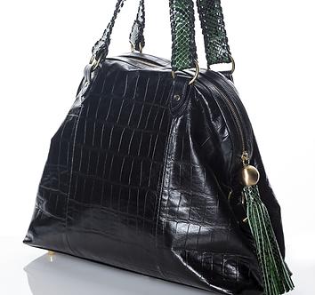 Crocodile/ Olya Day Bag