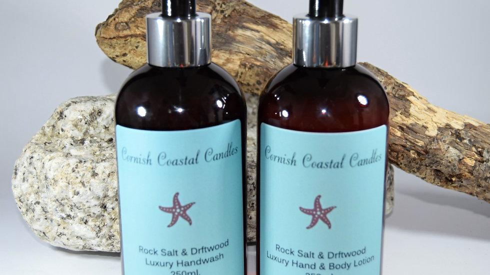 Rock Salt & Driftwood Luxury Hand Wash