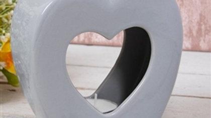 Grey Heart Wax Melter