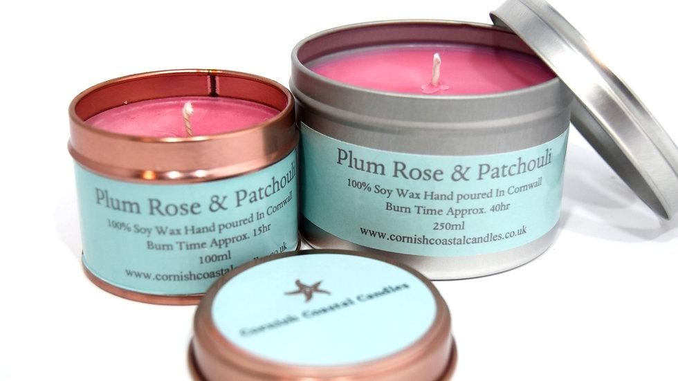 Plum Rose & Patchouli