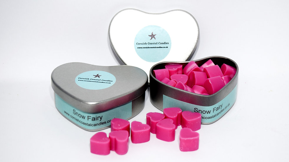 Heart Wax Melt Tins